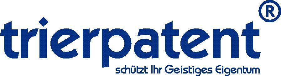Logo Trierpatent mit Claim (Pantone 288C).png